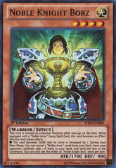 Noble Knight Borz - SHSP-EN085 - Super Rare - Unlimited Edition