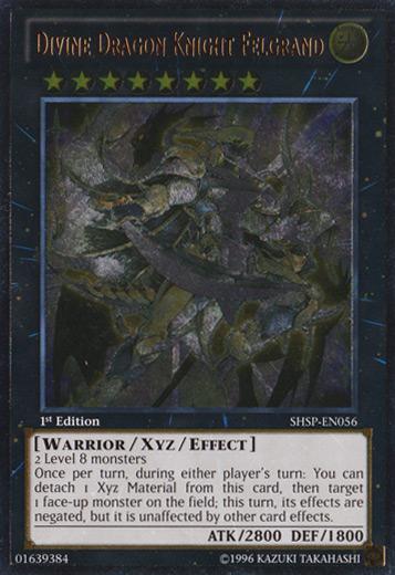 Divine Dragon Knight Felgrand - SHSP-EN056 - Ultimate Rare - Unlimited Edition