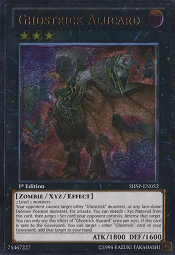 Ghostrick Alucard - SHSP-EN052 - Ultimate Rare - Unlimited Edition