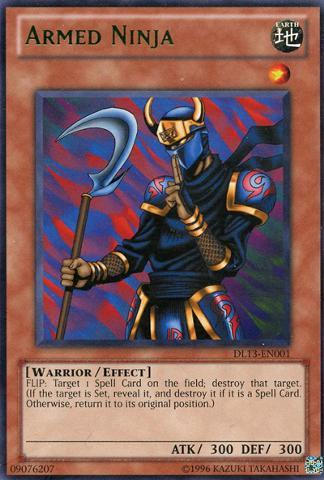 Armed Ninja - Green - DL13-EN001 - Rare - Unlimited Edition
