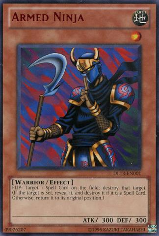 Armed Ninja - Red - DL13-EN001 - Rare - Unlimited Edition