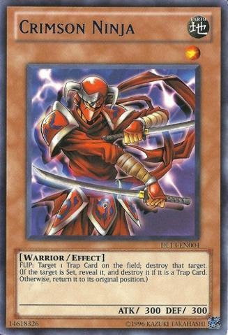 Crimson Ninja - Blue - DL13-EN004 - Rare - Unlimited Edition