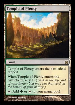 Temple of Plenty - Foil