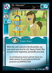 Dr. Hooves, Unblinking - 197