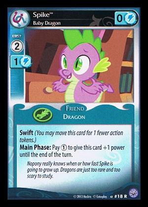 Spike, Baby Dragon - F11