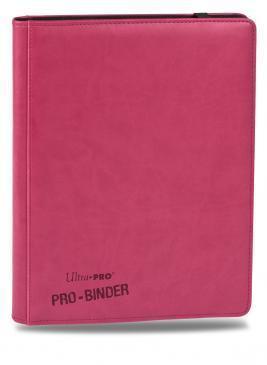 Ultra Pro Premium 9-Pocket Pro-Binder - Pink