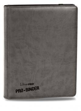 Premium 9-Pocket Grey PRO-Binder