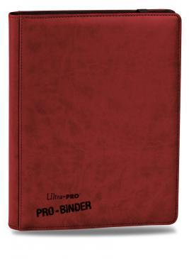Premium 9-Pocket Red PRO-Binder