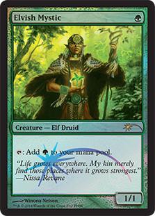 Elvish Mystic - Feb 2014 Foil