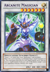 Arcanite Magician - Purple - DL14-EN009 - Rare - Unlimited Edition on Channel Fireball