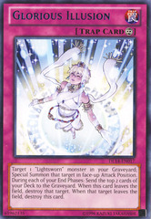 Glorious Illusion - Blue - DL14-EN017 - Rare - Unlimited Edition